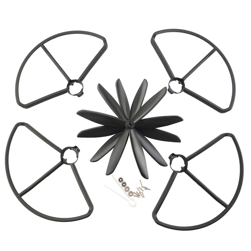 4PCS/Set 3 leaf Blade Propellers Protector For MJX Bugs B2C B2W RC Drone Quadcopter Spare Parts