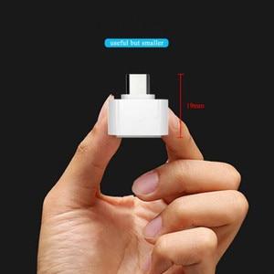 Image 2 - 3 قطعة/الوحدة OTG محول مايكرو USB OTG 2.0 عناق محول كاميرا للهاتف أندرويد لسامسونج كابل قارئ بطاقة OTG كابل قارئ