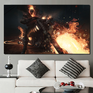 Ghost Rider Marveles konkurs mistrzów obraz na płótnie drukuje salonu wystrój domu nowoczesne Wall Art malowanie plakaty obraz