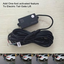 One-foot activated induction module for Smart Auto Electric Tail Gate Lift plc induction open car trunk system lift automatic open auto tail box intelligent induction kick tail gate automatic tailgate