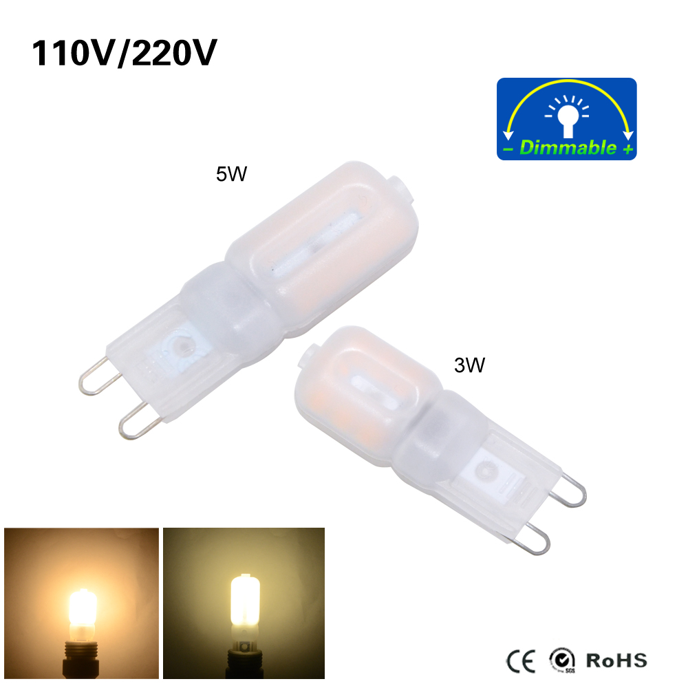 Lampen G9 2018 New G9 Led Lamp 3w 5w 220v 110v Led Bulb Smd 2835 Spotlight