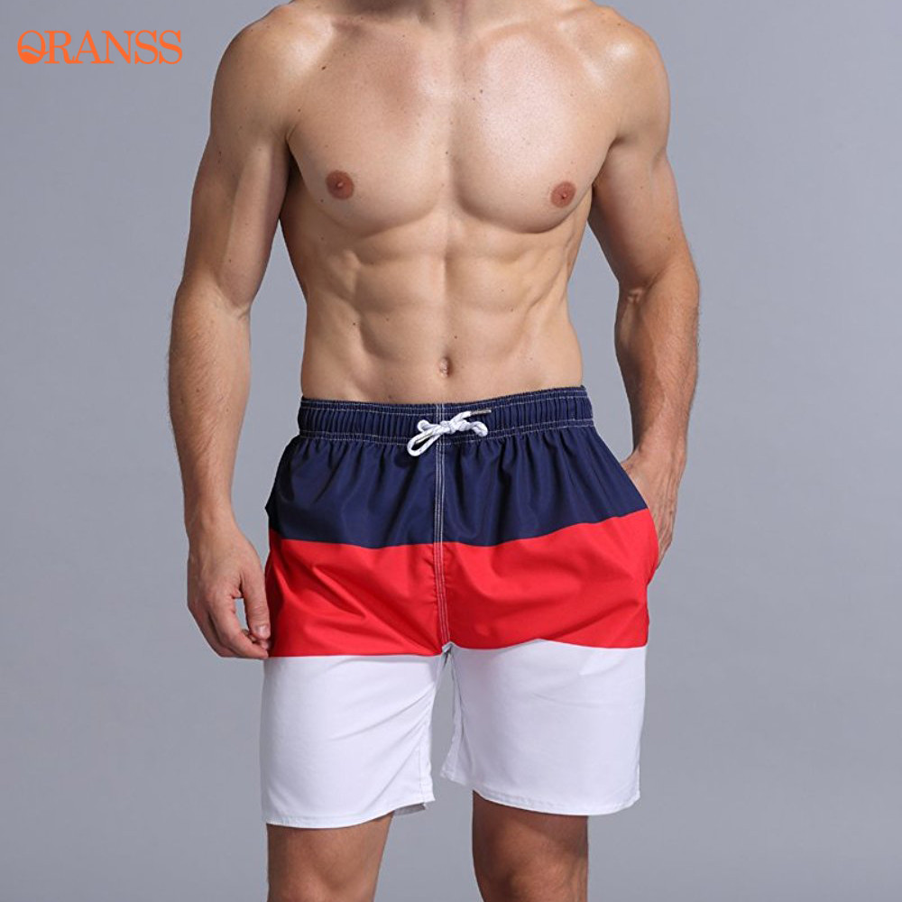 246d64126f 2018 New Surfing Beach Shorts Man Summer Striped Quick Dry Shorts Swim  Trunks with Mesh Lining Pockets Drawstring Boardshorts-in Surfing & Beach Shorts  from ...