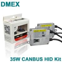 DMEX 1 SET 4500K 5500K 6500K Canbus HID Xenon Kit H1 H3 H7 H11 9005 9006