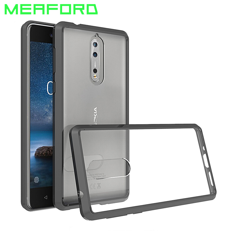 Kids' Clothes, Shoes & Accs. Mokoemi Ultra Thin Slim Clear Soft Tpu 5.3for Nokia 8 Case For Nokia 8 Cell Phone Case Cover
