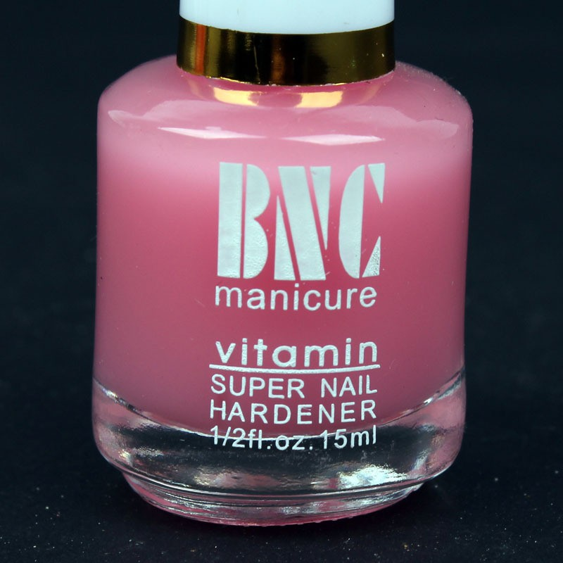3pcs 15ml BNC Pink Vitamin Manicure For Nail Art UV Gel Polish Candy Colored Hardener Base Primer Coat Top