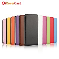 Genuine Leather Flip Cover Case For IPhone 5C