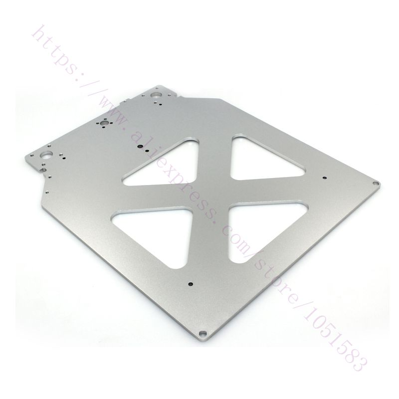 Upgrade Ultimaker2 Print Table Base Plate Aluminum Alloy 303 5 257 4mm Aluminum Plate for UM2