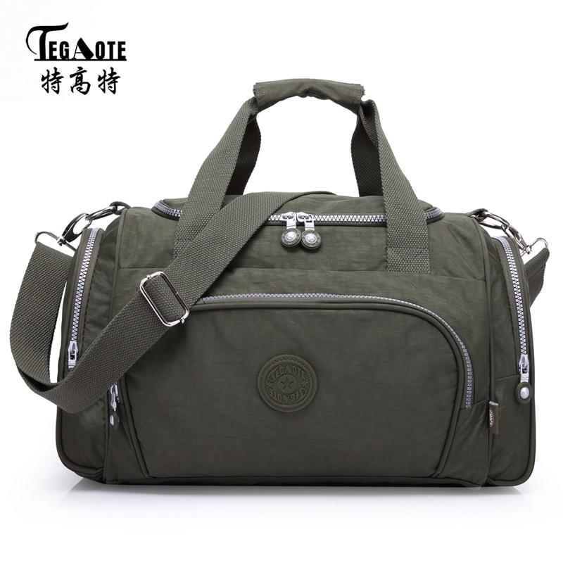 TEGAOTE Men's Travel Bags Carry on Luggage Bags Men Duffel Bags Travel Tote Large Weekend Bag Overnight Waterproof