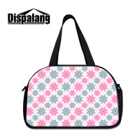 Dispalang Womens Travel Luggage Bags Flower Pink Series Professional Girls Travel Duffle Bags Hot Large Capacity Casual Handbags