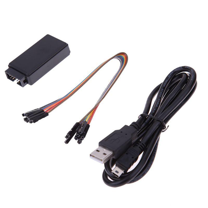 10 farbige Dupont Linien USB Logic SCM 8 Kanal 24 mt/sekunden Logic Analyzer Debugger für ARM FPGA Logic analyzer Logic Neue