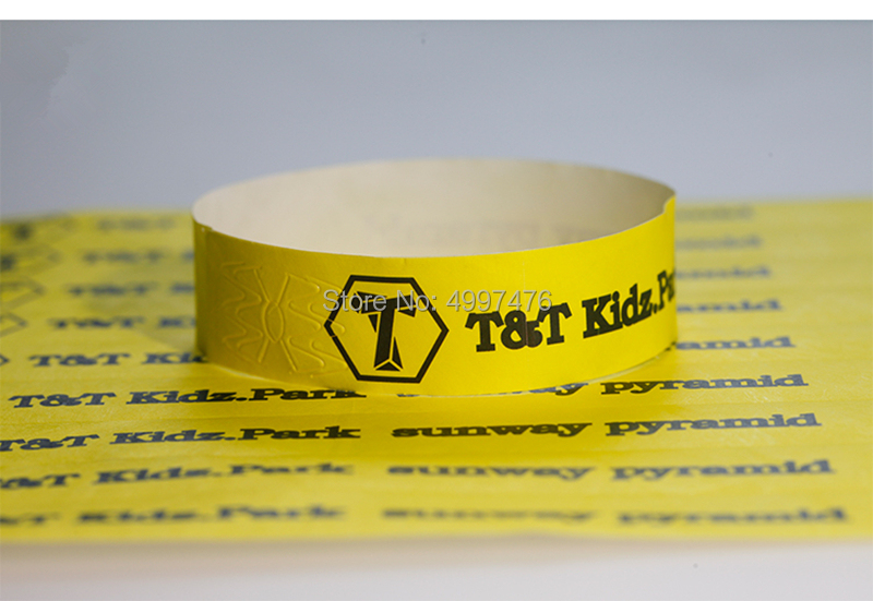 wristbands for event