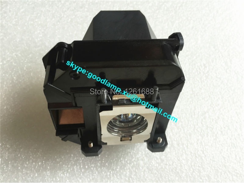 High quality projector lamp with housing ELPLP61 for EPSON EB-430/EB-430LW/EB-435W/EB-915W/EB-925 projectors high quality projector lamp elplp64 for epson eb c720xn eb c1030wn eb c1040xn eb c45w eb c05s eb c20x eb c713x