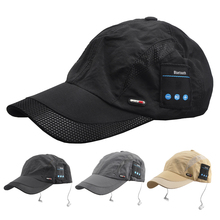 Summer Bluetooth Hat Cap Sport Headset Cap Music Baseball Cap with Microphone for Music Listening Phone Call for Mobile/Sport