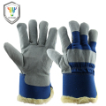 New Men's Work Gloves Cowhide Leather Driver Security Protection Safety Workers Working Welding -30 Warm Waterproof Gloves 1108