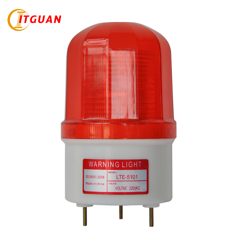 LTE-5101 LED Rotary strobe factory /workshops/construction sites/booth signal warning light beacon police beacon light alarm