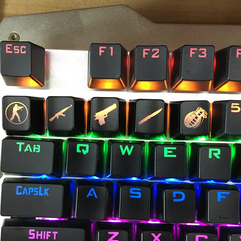 SIANCS DIY CS GO Gaming keycaps Key Button CSGO key caps game keycap Game Accessories Mercy ABS Cap for Mechanical keyboard image
