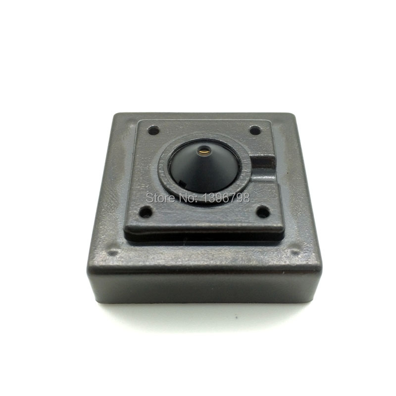 Mini Square type 700TVL 3.7mm 92-degree night vision video surveillance audio pinhole surveillance cameras wholesale