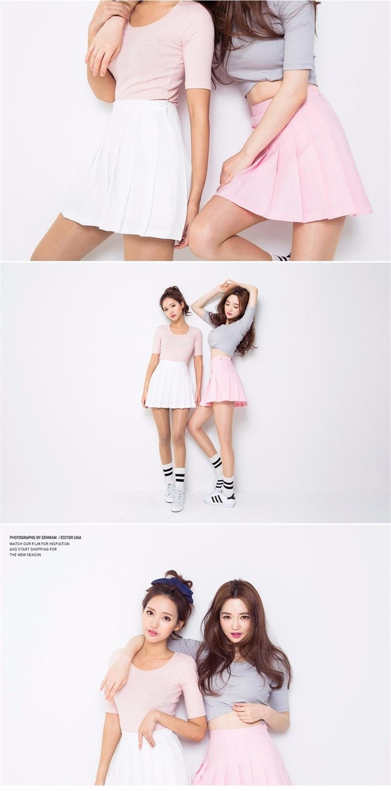 pleated skirt 01