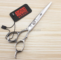 6 0Inch Japan Kasho Cutting Scissors Professional Hair Shear For Salon Hairdressing Human Hair Scissors 1pcs