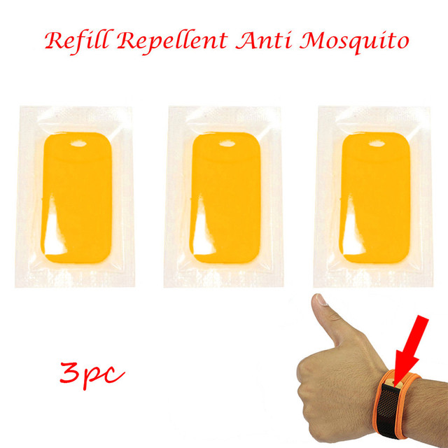 High Quality 2018 Hot Sale Gift 10PC Refill Repellent Anti Mosquito For Wrist Band Mosquito Bracelet Repeller