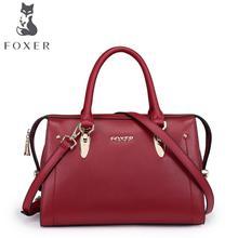 Натуральная Кожа женщины сумку FOXER/золото Лиса новый сумка Моды отдыха сумка Отдыха диких сумка