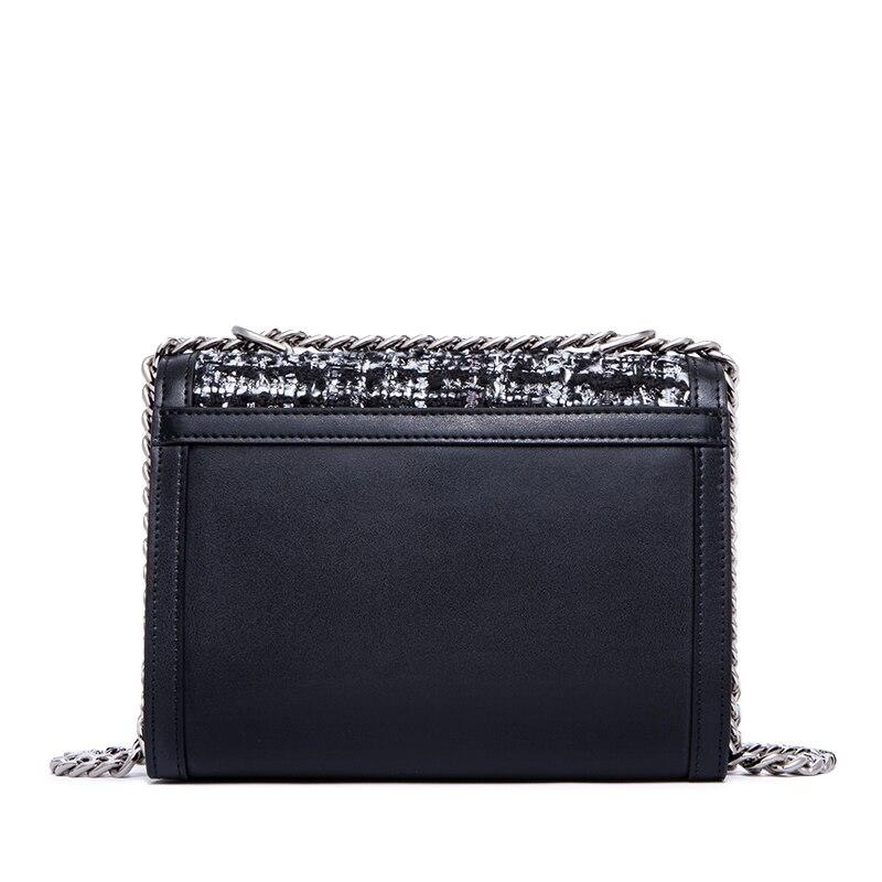 ZOOLER marke umhängetaschen für frauen leder & Woolen frau schulter tasche kleine messger taschen Mode 2019 neue kupplung tasche # yj205-in Schultertaschen aus Gepäck & Taschen bei  Gruppe 3