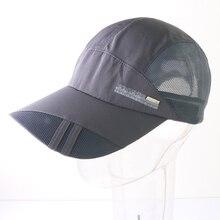 Verano de secado rápido malla SnapBack todo-fósforo Gorras de béisbol para  los hombres jóvenes 8afa779cc3a
