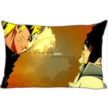 Best Custom Pillow Case Naruto (1)@ Bedroom Home Rectangle zipper Pillowcases (One Side) @1205-05-06-289(China)