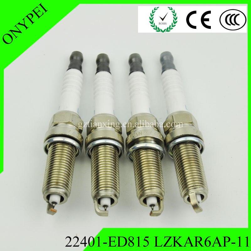 Spark-Plug Cube Iridium Lzkar6ap-11 22401-Ed815 Tiida Nissan Micra X-Trail For March