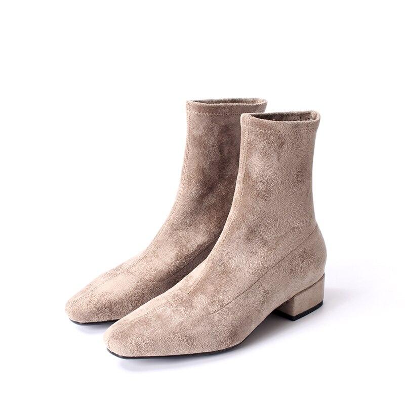 Noir En 2018 Courtes Nouvelle Cheville Chaussures Moche Pour L'hiver ZvZzFq0