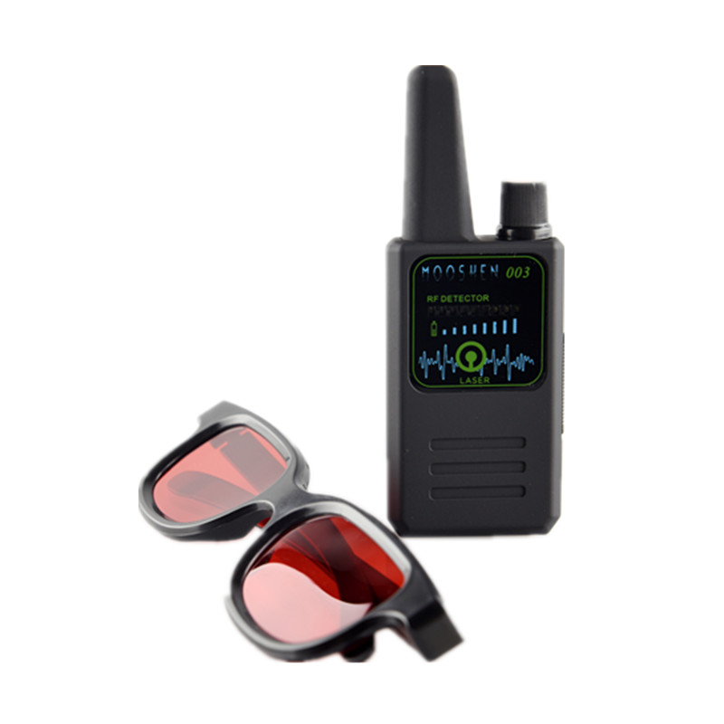 IR Glasses Cam Handheld Detector Wireless RF Signal Detector CDMA Signal Detector Detect Camera Lens GPS Locator Device Finder