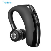 YuBeter 1 stück Sport Wireless Bluetooth Kopfhörer Sweatproof Headsets Noise Reduction Ohrhörer Eingebaute Mic für Run Hände frei(China)