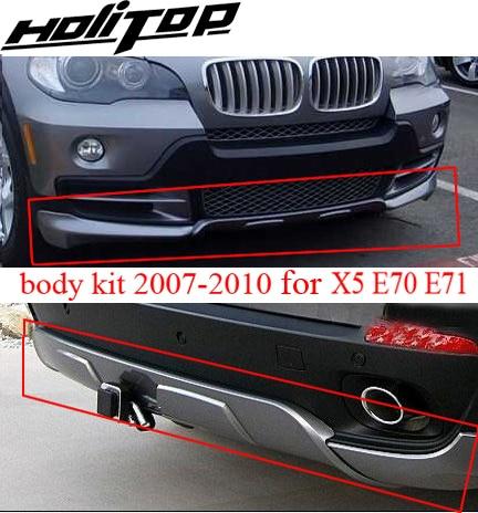 Para BM X5 E70 body kit, bodykit, skid plate, bumper, 2007 2008 2009 2010, marca tapa-up ABS novo, ISO9001 qualidade, grande desconto