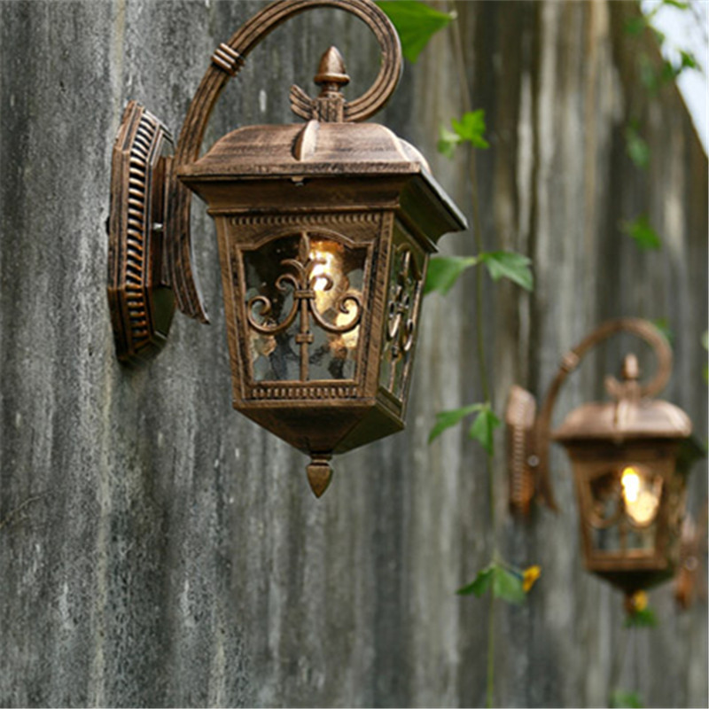 Luminaria LED Wall Porch Street Night Light Outdoor Garden Waterproof Lamp Home Balcony Corridor Wedding Garland Lighting Decor кронштейн arm media pt 19 до 35кг black
