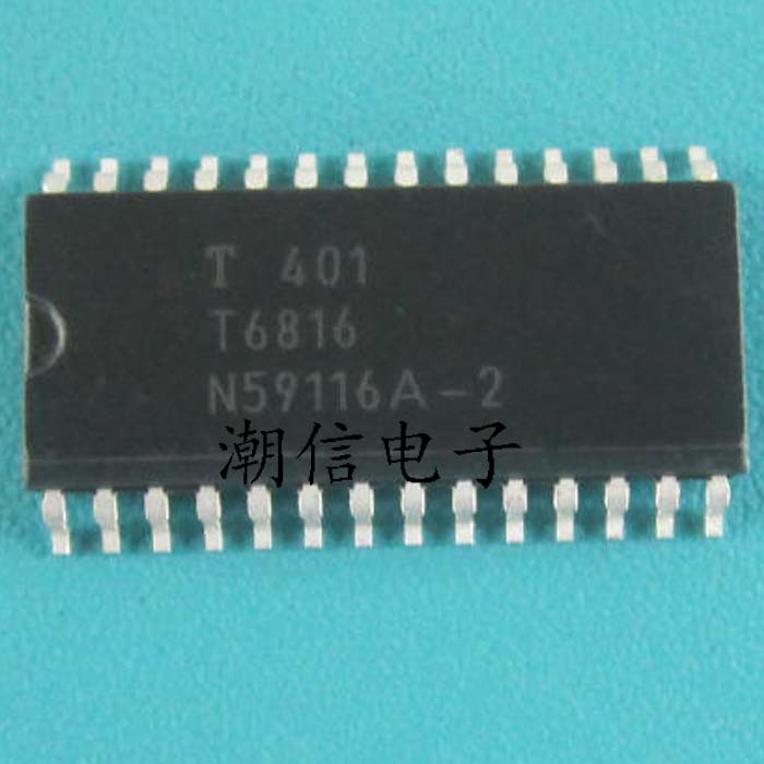 Free shipping new 100 new 100 T6816 SOP 28