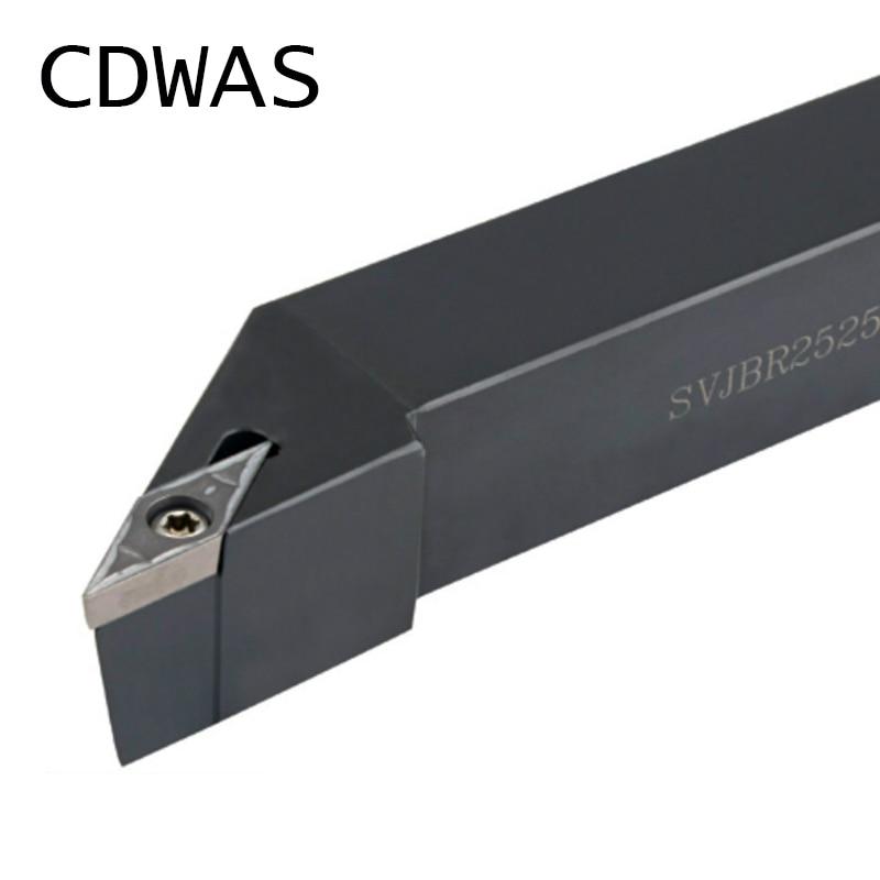 External Turning Tool  Lathe Cutter Carbide inserts Machine CNC Holder Tool SVJBR1616H11External Turning Tool  Lathe Cutter Carbide inserts Machine CNC Holder Tool SVJBR1616H11
