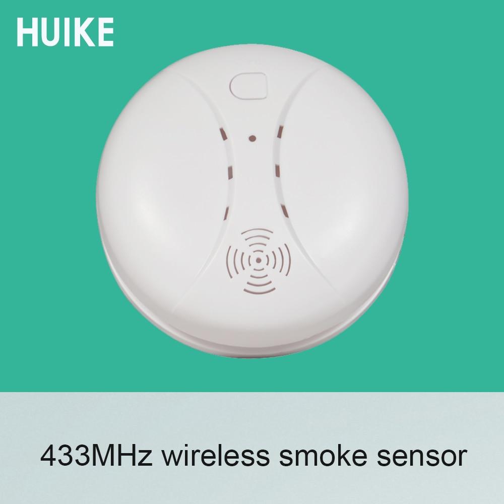 1 PCS 433MHz Automatic Coding Fire Control Smoke Alarm Sensor Alarm System Accessories Fire Control Detector