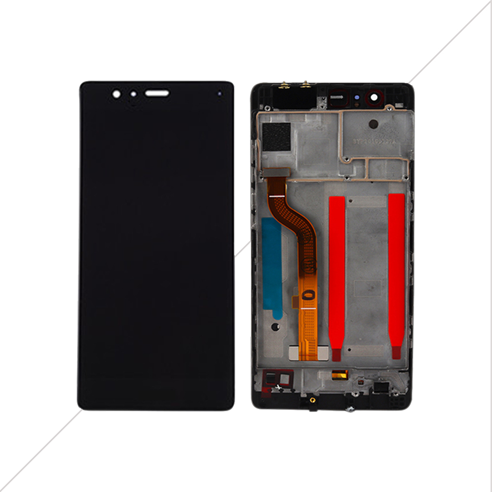 """Image 3 - AICSRAD 5.2"""" LCD For HUAWEI P9 Display Touch Screen Digitizer with Frame for HUAWEI P9 LCD Display EVA L09 EVA L19 Replacement-in Mobile Phone LCD Screens from Cellphones & Telecommunications"""