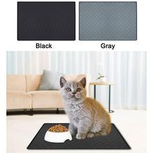 Силиконовый коврик для домашних животных, утолщенный коврик для собак с рисунком когтей, водонепроницаемый автомобильный коврик для домашних животных для собак, кошек, нетоксичный, не аллергенный, легко моется