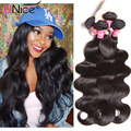 Best Selling Brazilian Virgin Hair Body Wave 3pcs UNice Hair Brazilian Body Wave 7A Brazilian Hair Weave Bundles Free Shipping
