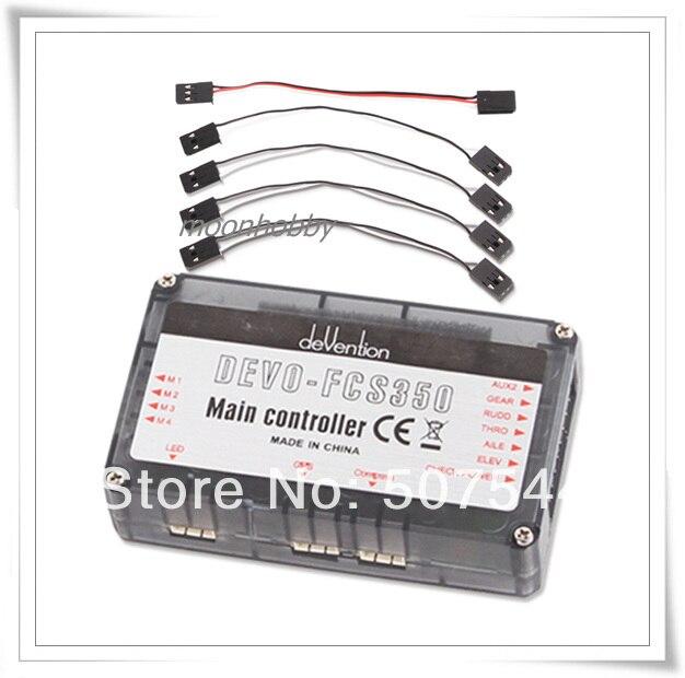 QR X350 Main Control Board w/altimeter DEVO-FCS350 QR X350-Z-12 Walkera QR X350 Parts Free Shipping with tracking free shipping walkera qr x350 qr x350 z 02 body set