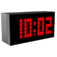 CH KOSDA Countdown 4 Digits LED Alarm Clock 6 Snoozes Show Date Time Tempreture Alarm Clock Digital LED Bedroom Kids