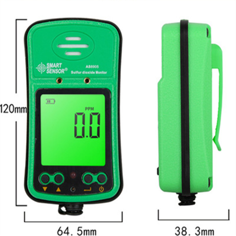 AS8905 High-precision Portable Industrial Sulfur Dioxide Gas Detector Tester SO2 Monitor Tester Meter