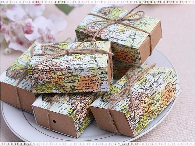 7653cm world map wedding favor candy boxes gift box food packing 7653cm world map wedding favor candy boxes gift box food packing box gumiabroncs Image collections