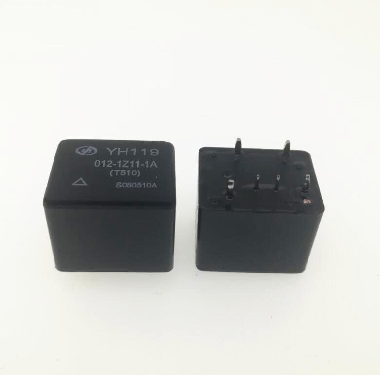 AUTO CAR 12V relay YH119 012-1H11-1S YH119-012-1H11-1S 12VDC DC12V 12V 6PINAUTO CAR 12V relay YH119 012-1H11-1S YH119-012-1H11-1S 12VDC DC12V 12V 6PIN