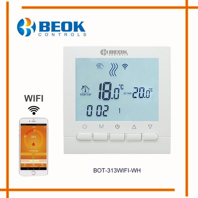 BEOK Programmierbare Gaskessel Heizung Temperaturregler APP Steuert ...