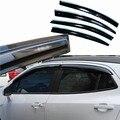 4 pcs Janelas de Ventilação Viseiras Chuva Guarda Sol Escudo Escuro Defletores Para Buick Encore 2013