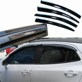 4pcs Windows Vent Visors Rain Guard Dark Sun Shield Deflectors For Buick Encore 2013