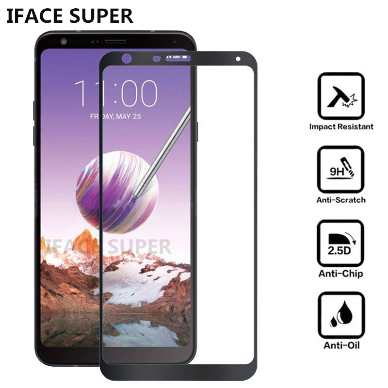 For LG Stylo 4 Tempered Glass Screen Protector For LG Q