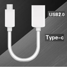 10pcs Data Cable Type C to USB 2.0 A Male To Female O-T-G Connector